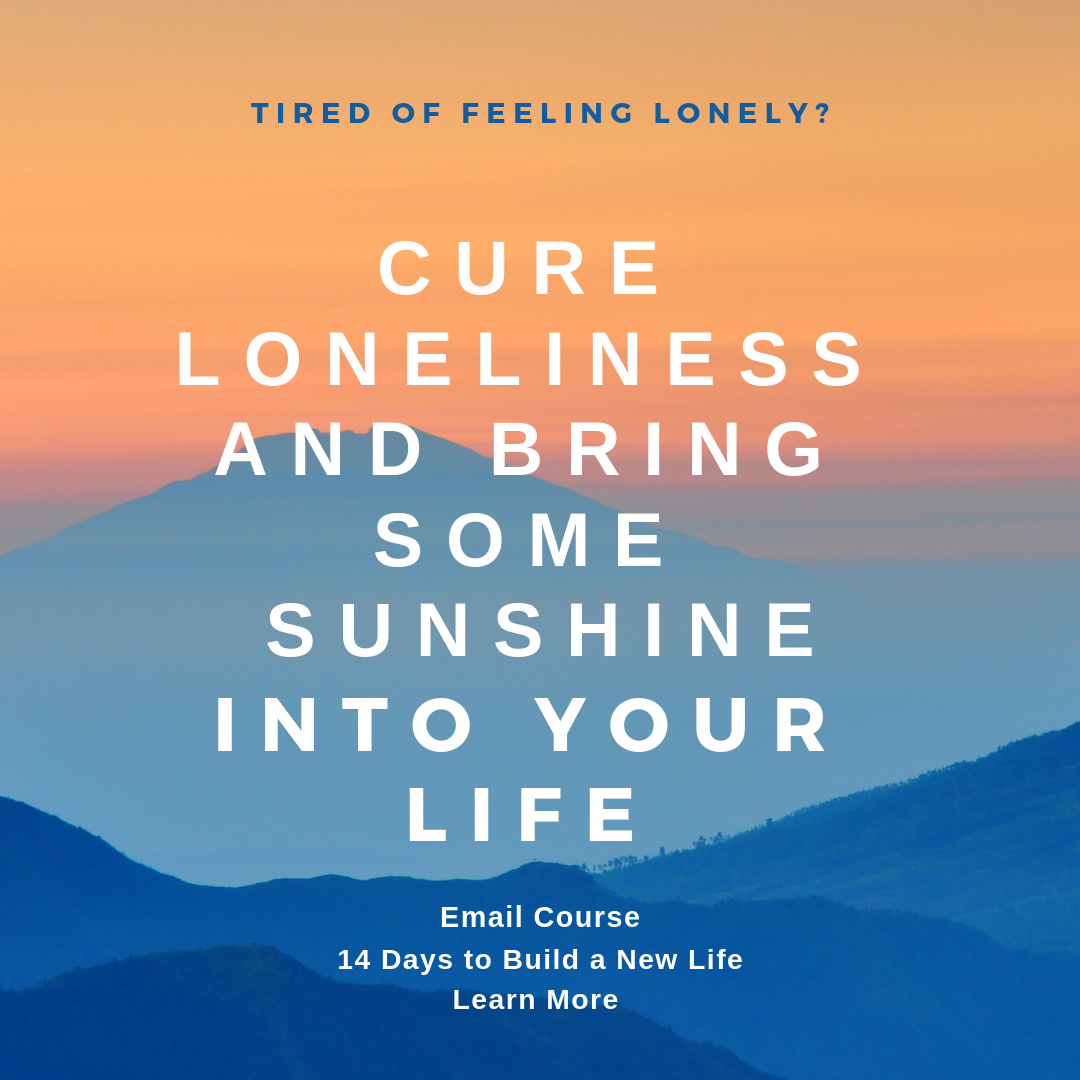 Cure loneliness e-Course infographic