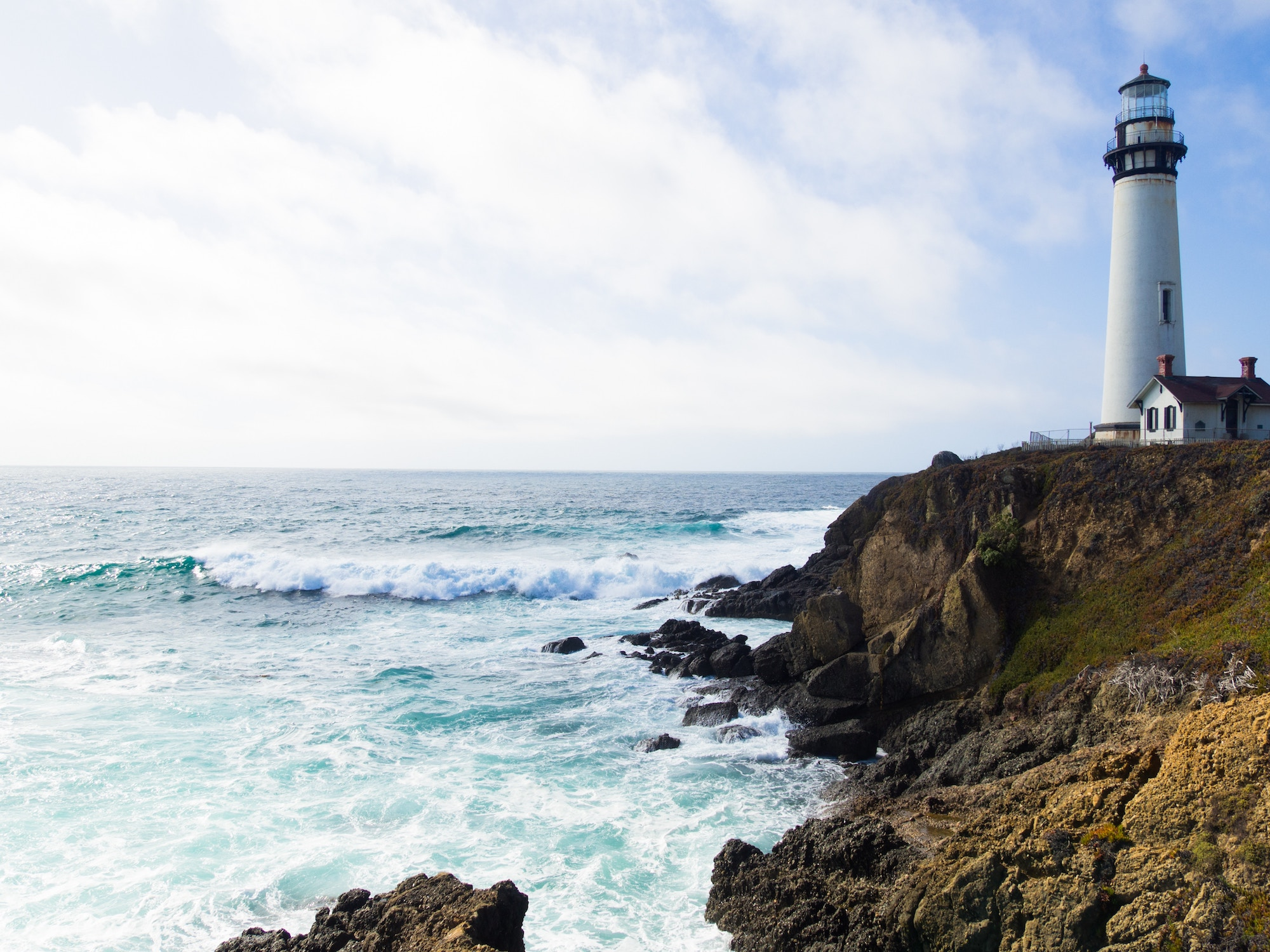 Meditation is like a lighthouse on the choppy sea