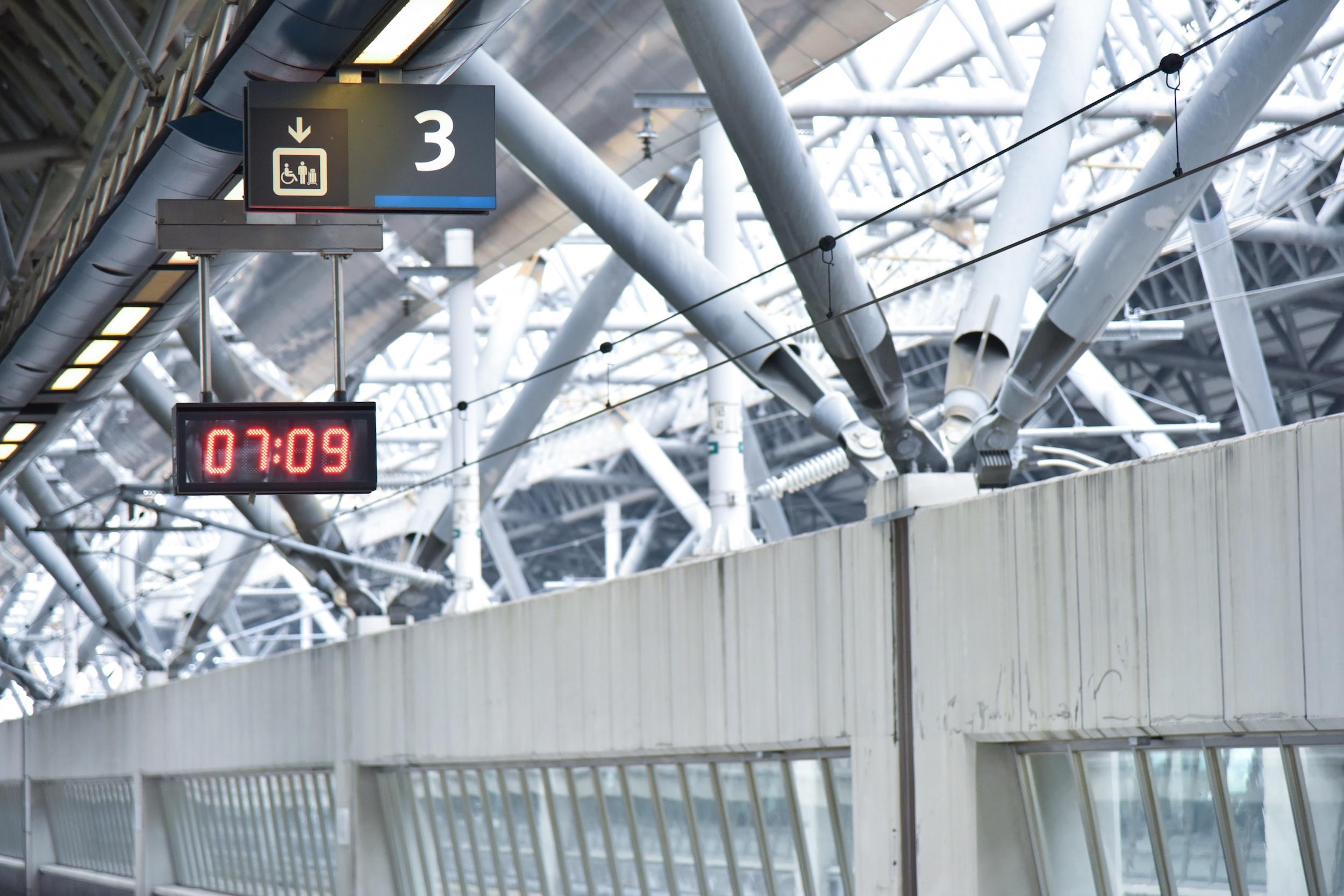 Digital clock displaying